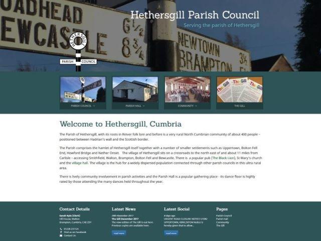 Hethersgill, Cumbria