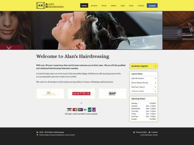 Alan's Hairdressing