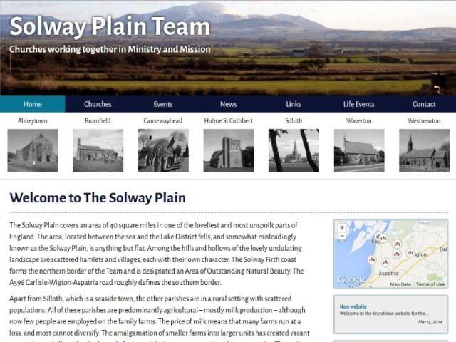 Solway Plain Churches