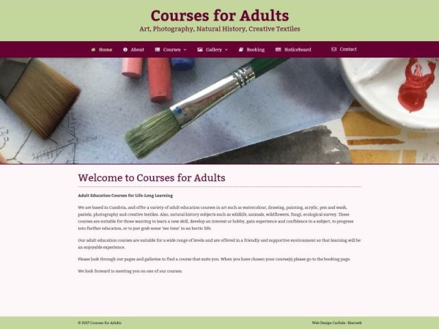 Courses for Adults
