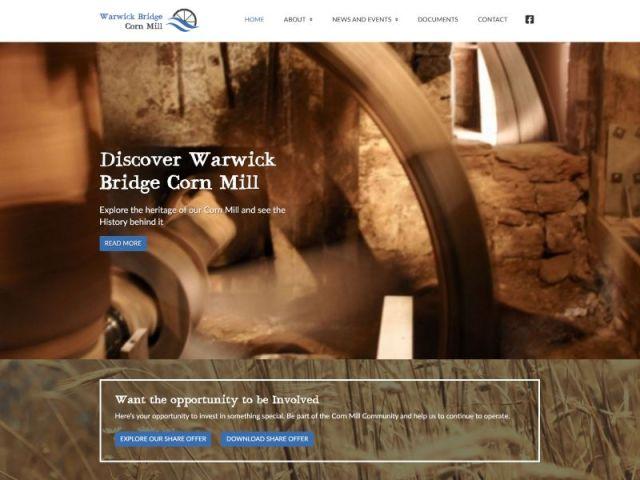 Warwick Bridge Corn Mill