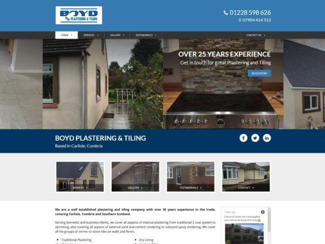 Boyd Plastering & Tiling