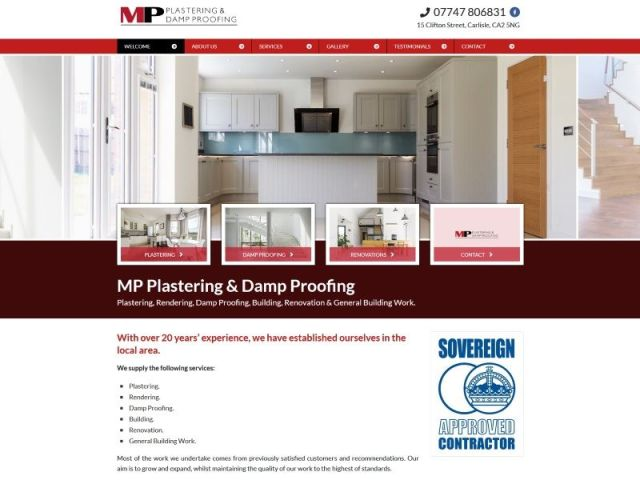 MP Plastering & Damp Proofing