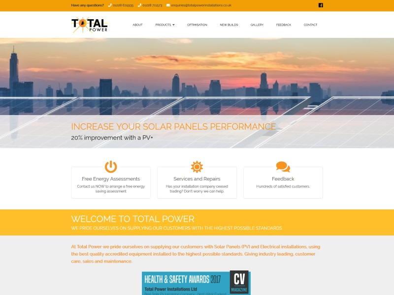 Total Power Installations - Solar Panel Installers
