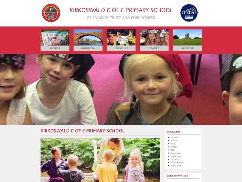 Kirkoswald CE Primary School - Primary School in Kirkoswald, Cumbria