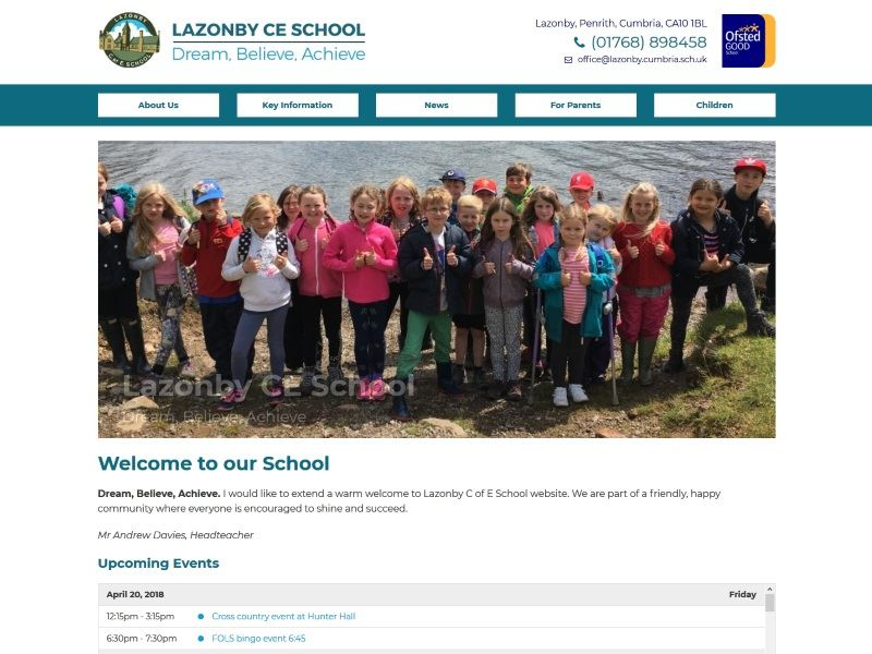 Lazonby CE School - Primary School in Lazonby, Cumbria