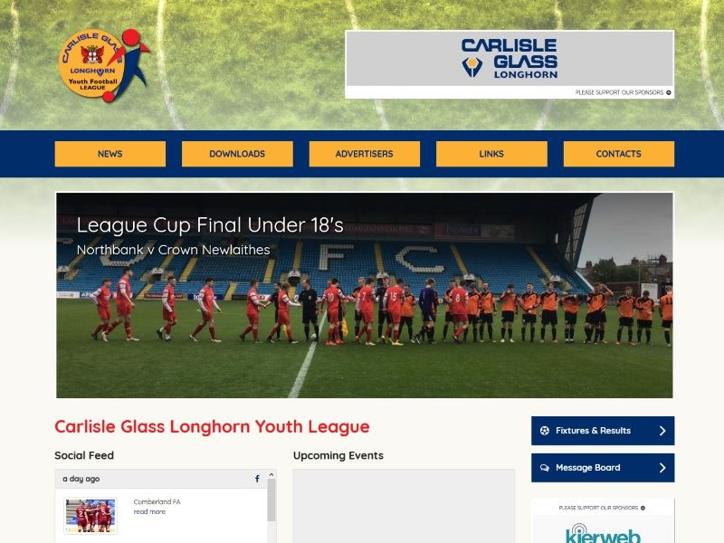 Carlisle Glass Longhorn Youth League - Youth Football in Cumbria