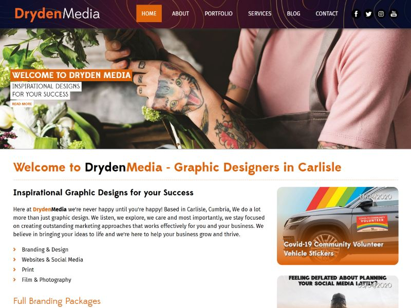 DrydenMedia - Inspirational Designs for your Success!