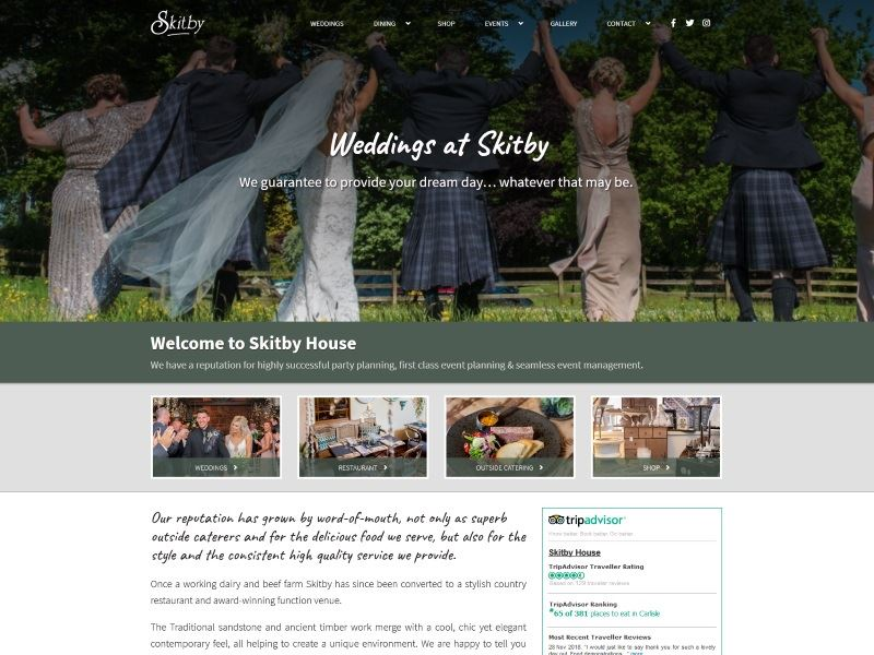 Skitby House - Stylish Country Restaurant and Award-Winning Function Venue