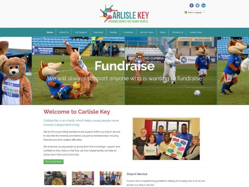 Carlisle Key - Opening Doors for Young People