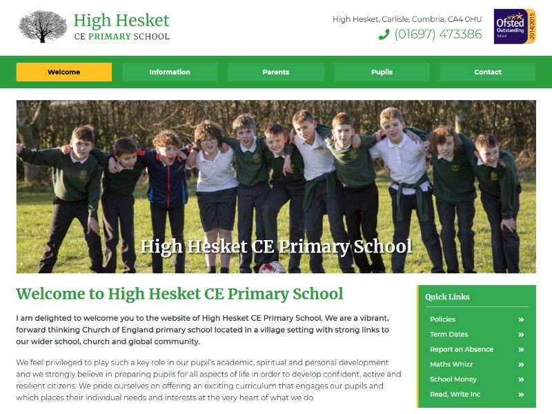 High Hesket Primary School - Primary School in High Hesket, Carlisle