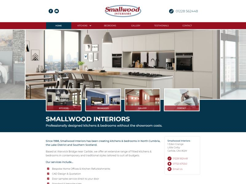 Smallwood Interiors - Professionally Designed Kitchens and Bedrooms