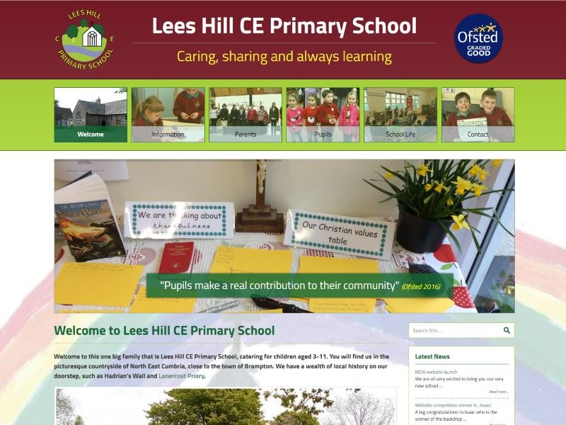 Lees Hill Primary School - Primary School in North East Cumbria.