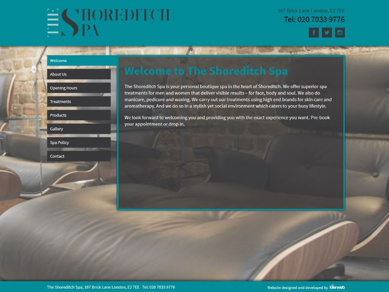 The Shoreditch Spa - A personal boutique spa in the heart of Shoreditch, London
