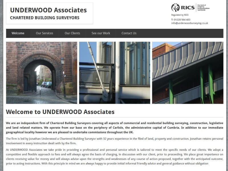 Underwood Associates - Chartered Building Surveyors