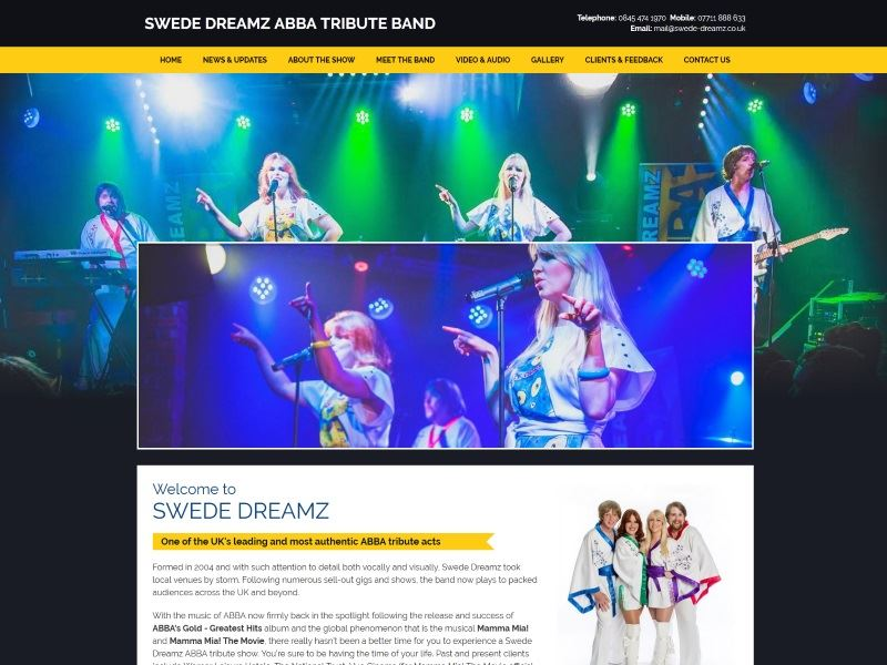 Swede Dreamz - ABBA Tribute Band