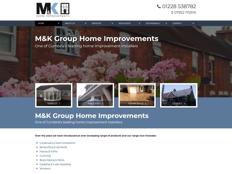 M&K Group - One of Cumbria's leading home improvement installers.